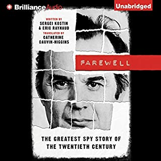 Farewell audiobook cover art