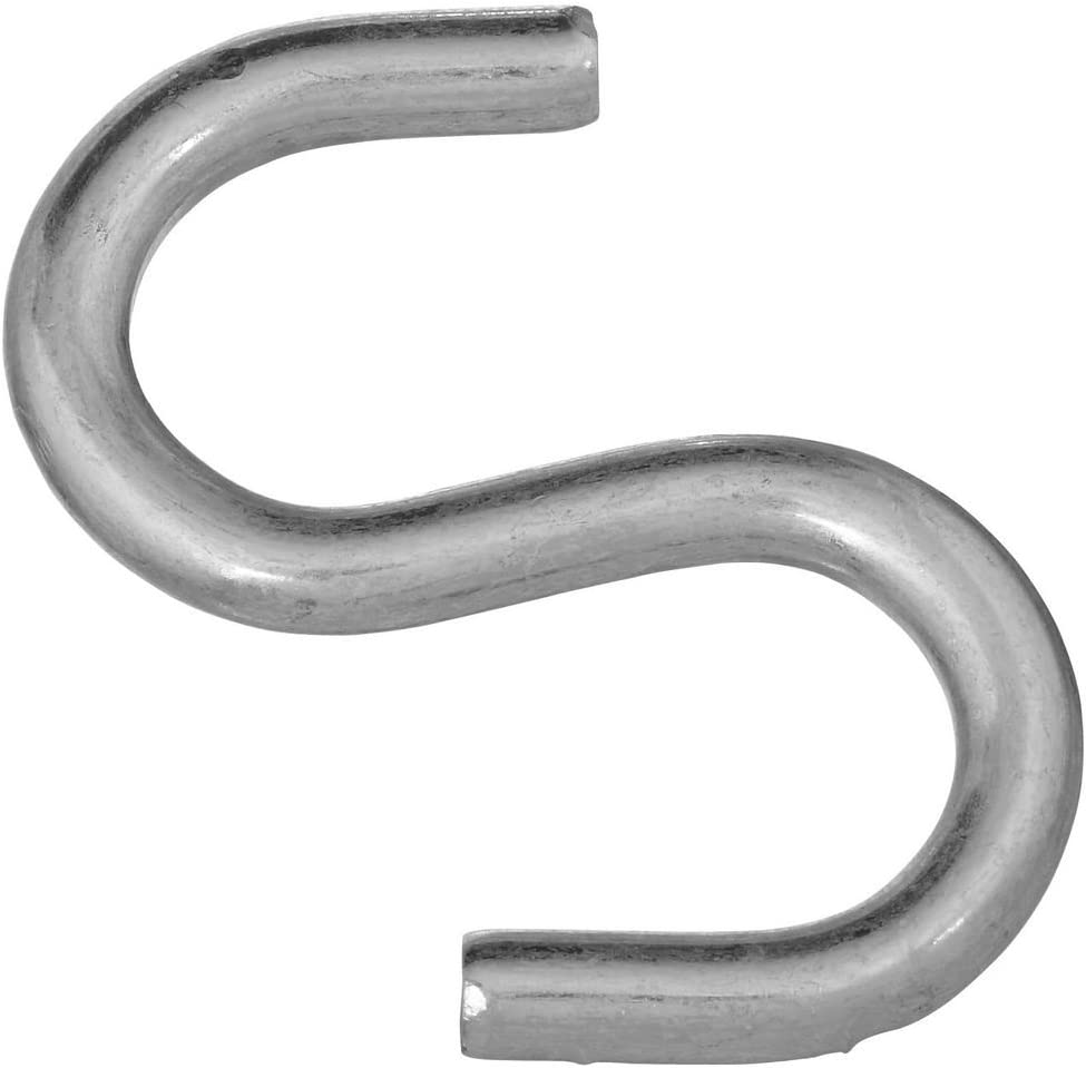 Outlet sale feature National Hardware Branded goods N273-441 2076BC Open S I in 3 Zinc Hook plated