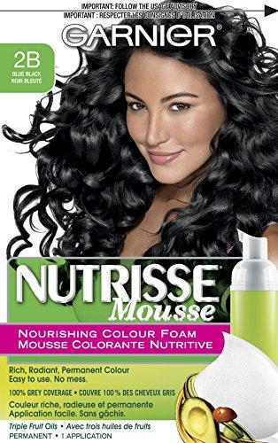 Garnier Nutrisse Nourishing Color Foam, Blue Black
