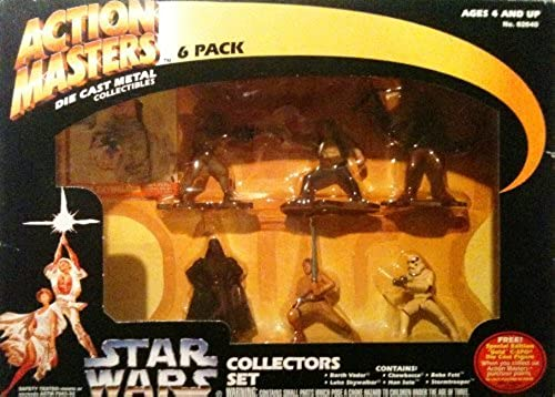 STAR WARS ACTION Masters 6 e Cast Metal Collectors Set by Just Spielzeug