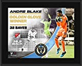 Andre Blake Philadelphia Union Unsigned 10.5' x 13' 2020 MLS is Back Golden Glove Winner Sublimated Plaque - Soccer Plaques and Collages