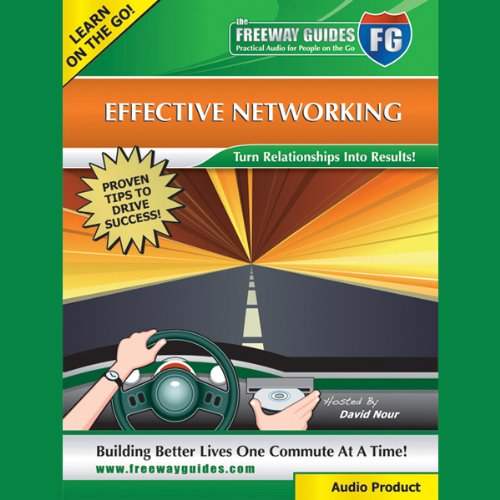 Effective Networking audiobook cover art