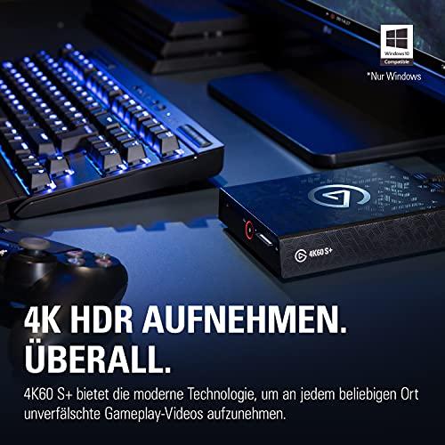 Elgato 4K60 S+ Aufnahme in 4K60 HDR10 auf SD-Karte, verzögerungsfreie Weiterleitung des 4K60 HDR Signals, PS5/PS4, Xbox Series X/S, Xbox One X/S - 2