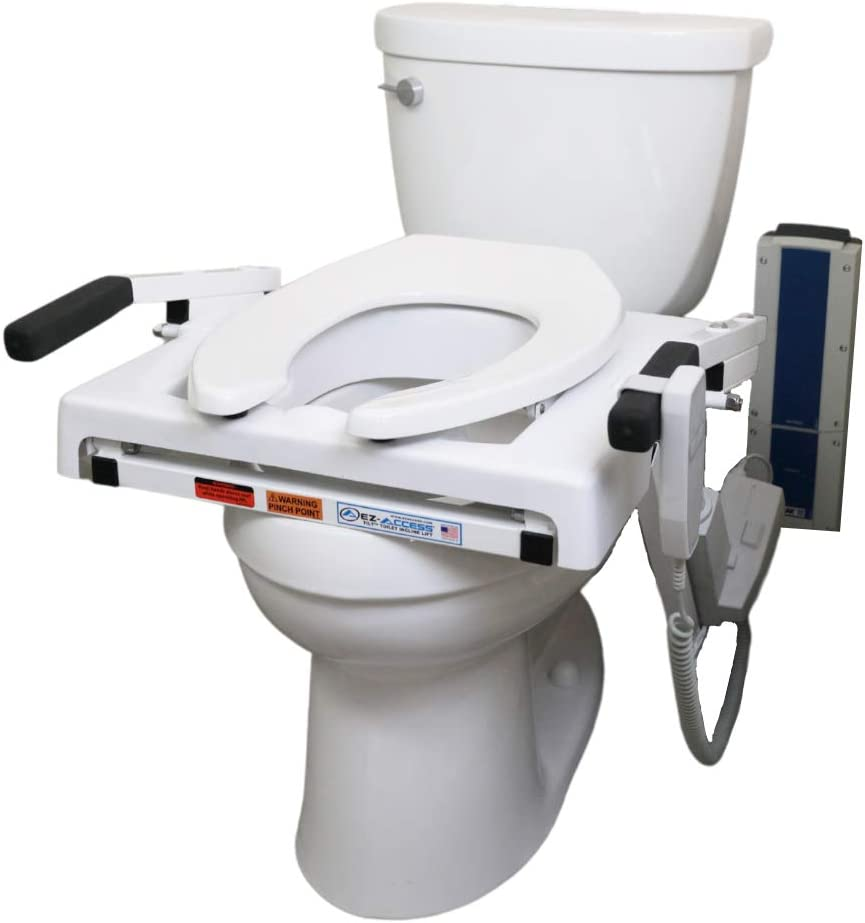 EZ-ACCESS TILT Toilet Incline Powered Lift Max 70% OFF Inc New product Battery