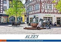 Alzey - Rheinhessens heimliche Hauptstadt (Wandkalender 2022 DIN A2 quer): Historischer Rundgang durch Alzey (Monatskalender, 14 Seiten )