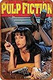 Cimily Pulp Fiction Uma Thurman Smoking II Vintage