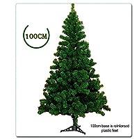 ♣ Size: L'altezza di questo albero di Natale artificiale è (100 centimetri / 120 centimetri / 150 centimetri / 180cm / 210 centimetri / 240 centimetri / 300cm) 7 diverse altezze.Quando si apre tutti i rami secondo le nostre istruzioni, si tratta di u...