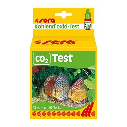 sera 04320 CO2-Dauertest 15 ml (für ca. 90 Befüllungen) zur permanenten Kontrolle des CO2-Gehaltes - CO2 immer im Blick im Aquarium - für CO2 Anlage - passend zu allen CO2 Anlagen