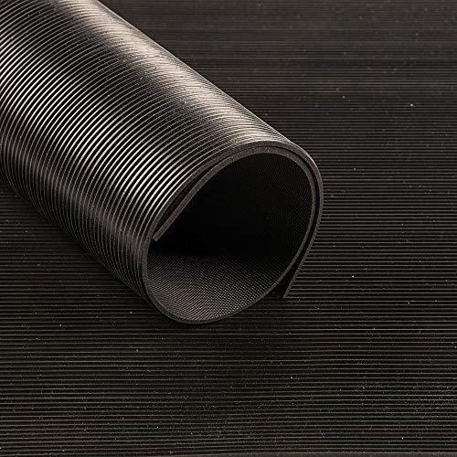 Feinriefenmatte schwarz 3mm 1000mm 10m