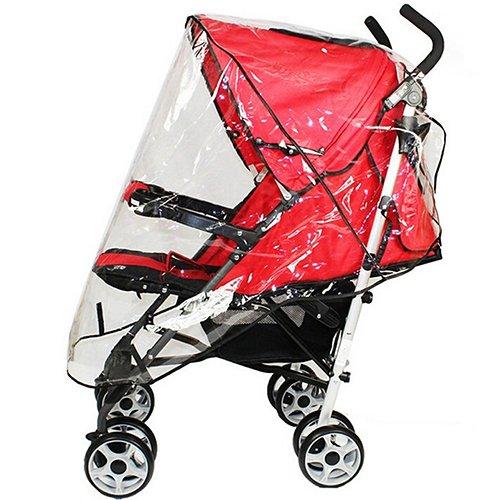 Bluelans® Housse de pluie universelle pour poussette de bébé - Pour voyage en plein air
