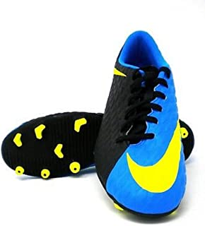 Hypervenom Phade II FG Soccer Cleats Blue Black Size 11.5