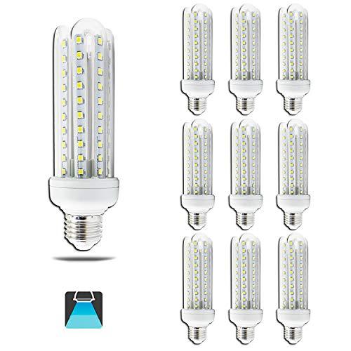 Aigostar Lampadina LED E27 15 W (Sostituisce 83 W) Luce Bianca Fredda 6400K 1200 Lumen, Angolo a Fascio 360°, Non Dimmerabile, 10 pezzi.