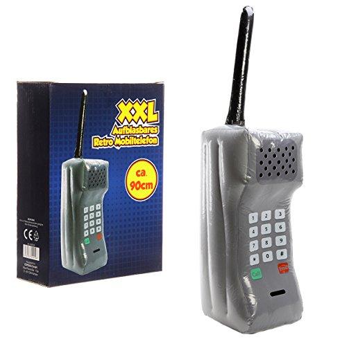 riesiges aufblasbares Retro Handy Mobiltelefon XXL, ca. 90cm ,der Badespaß schlecht hin