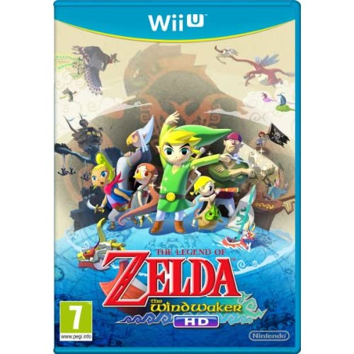 Nintendo Legend of Zelda: The Wind Waker HD Wii U