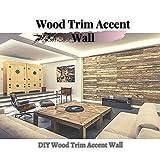 Wood Trim Accent Wall: DIY Wood Trim Accent Wall (English Edition)