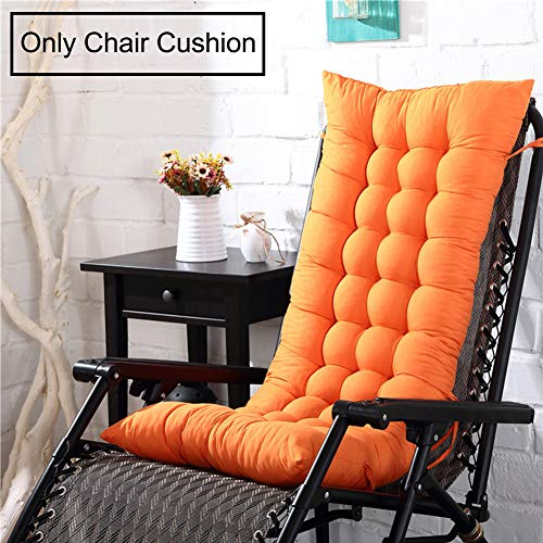 AINH Solid Color Thicken Recliner Chair Cushion,Soft Non-Slip Durable Seat Cushion Universal Portable Chair Pad Office for Rocking Chair-d 40x110x8cm(16x43x3inch)