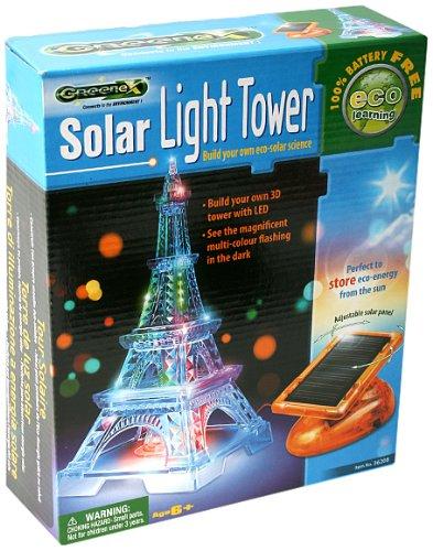 Mgm - 116208 - Jeu Scientifique - Boîte Tour Energie Solaire