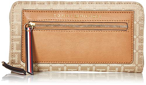 Tommy Hilfiger Lea Large Zip Wallet, KHAKI TONAL