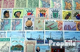 Portugal 50 Different Stamps Portuguese Colonies with Independent States (Stamps for Collectors)