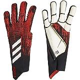 adidas Predator 20 Pro Goalie Gloves Soccer (Black/Red, 9)