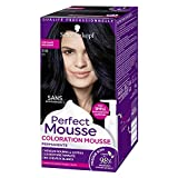 Schwarzkopf Perfect Mousse Coloration Permanente 210 Noir Glacé - Etui 35 ml