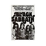 SOROP Black Sabbath Leinwand Kunst Poster und Wandkunst
