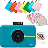 Polaroid Snap Touch 2.0 – Fotocamera digitale istantanea portatile da 13 MP, con Bluetooth integrato, display LCD touchscreen, video 1080p, tecnologia Zink Zero Ink e una nuova app, blu