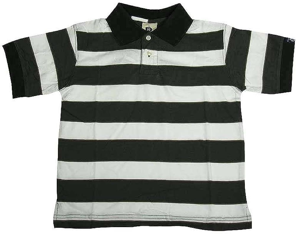 Dogwood Clothing - Little Boys Short Sleeve Striped Polo Shirt