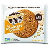Lenny & Larry's The Complete Cookie, Peanut Butter, 4 Ounce Cookies - 12 Count, Soft Baked, Vegan...