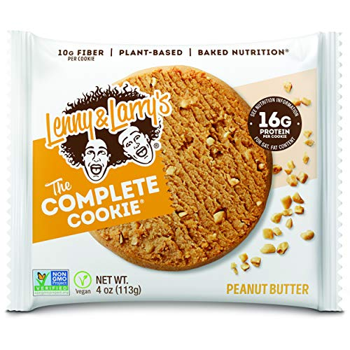 Lenny & Larry's The Complete Cookie, Peanut Butter, Soft Baked, 16g Plant...