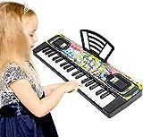 Shayson Teclado Piano para Niños 37 Teclas Multifuncional Teclado Electrónico para Niños Piano Música Juguete Educativo para Niños Pequeños