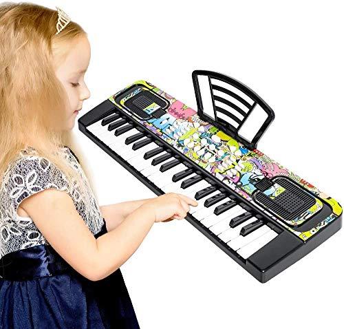 Shayson Keyboard Piano for Kids, 37 Keys Multifunctional Electronic Kids...