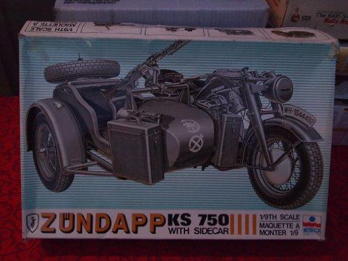 Esci Moto Zundapp en kit de montaje escala 1:9