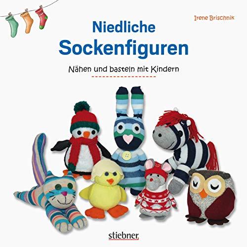 Niedliche Sockenfiguren: Nähen und Basteln mit Kindern