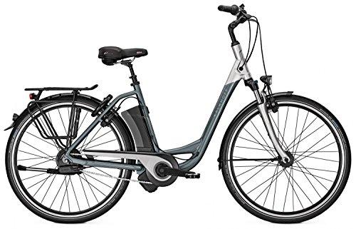 E-Bike Kalkhoff AGATTU IMPULSE ERGO XXL Wave NuVinci Harmony Schaltautomatik 36V/17Ah 26' grey/silver Rh 46, Rahmenhöhen:46;Farben:grey/silver