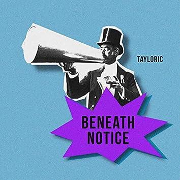 Beneath Notice