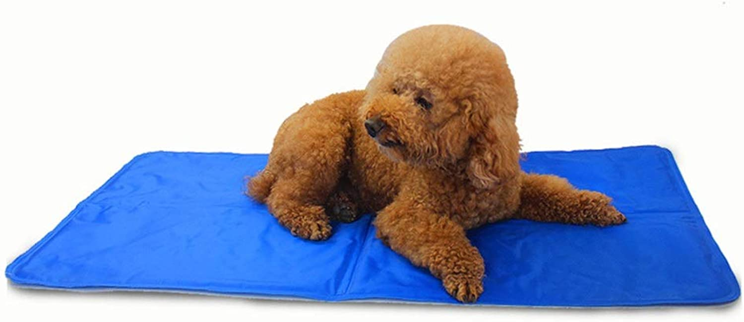 FUBULECY Pet Ice Pad Sleeping Pad Cat Kennel Dog Mat (color, Size   M)