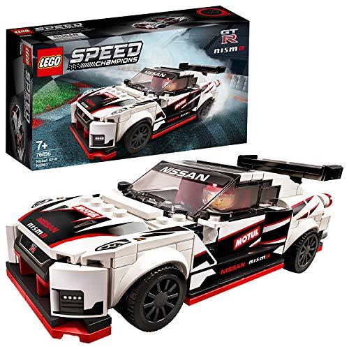 LEGO 76896 SpeedChampions NissanGT-RNISMO, Juguete de Construcción de Icónico Coche de Carreras con Mini Figura