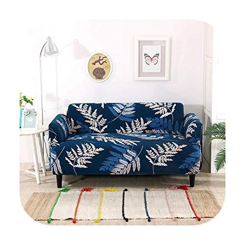 Funda de sofá Stretch universal cubierta de poliéster sofá cojín completo combinación -Rojo-1 asiento 90-140cm