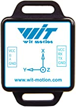 WitMotion WT901C mpu9250 High-Precision Gyro+Accelerometer+Angle+Magnetometer,9-Axis Digital Compass (Kalman Filtering, RS485,200HZ Output),Triple-Axis Tilt Angle Inclinometer for PC/Andriod/Arduino
