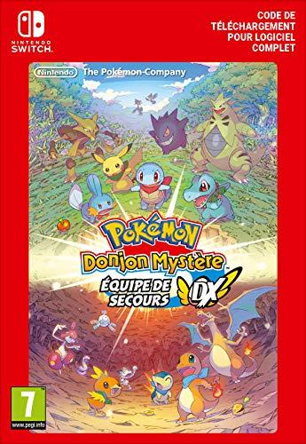 Pokémon Donjon Mystère : Équipe de Secours DX Standard | Nintendo Switch – Code jeu à télécharger