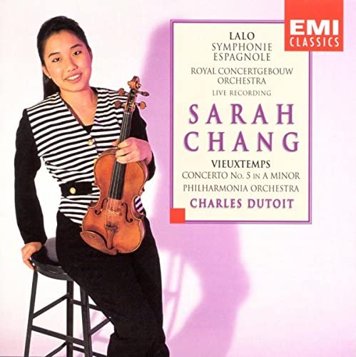 Sarah Chang, Philharmonia Orchestra, Charles Dutoit & Royal Concertgebouw Orchestra