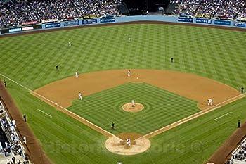 Historic Pictoric Los Angeles CA Photo - Dodger Stadium Los Angeles California - 36in x 24in