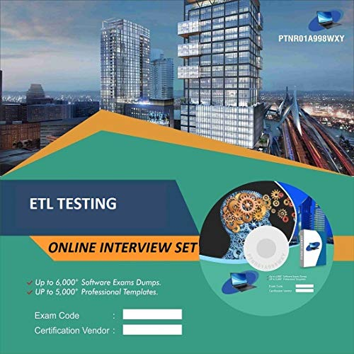 ETL TESTINGComplete Unique Collection All Latest Inteview Questions & Answers Video Learning Set (DVD)