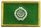 Flaggen Aufnäher Arabische Liga Fahne Patch + gratis