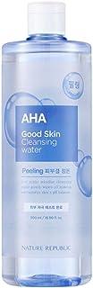 Nature Republic Good Skin Ampoule Cleansing Water 500ml / 16.90 fl.oz. (AHA)