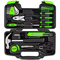 39-Piece Arcan Home Hand Tool Kit for Household Repairs