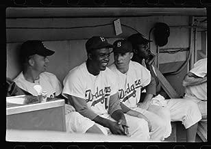 HistoricalFindings Photo: Jackie Robinson,Pee Wee Reese,Brooklyn Dodgers,1953