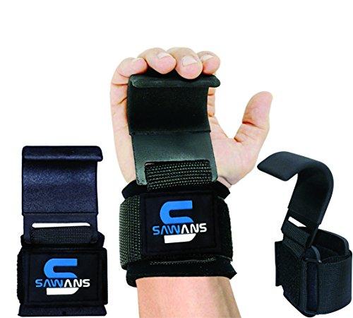Handgelenkstütze Power-Handgelenkriemen mit Haken, Gewichtheben, Training, Gymnastikstange