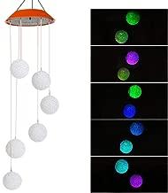 Spirale LED Solarleuchte Windspiel Gartenlampe Edelstahl Solarlampe Garten Deko